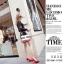 รองเท้าคัทชูหน้าวีแต่งอะไหล่ (สีแดง) thumbnail 4