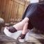 รองเท้าส้นเตารีดกลิตเตอร์ (สีขาว) thumbnail 4