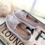 รองเท้าผ้าใบลูกไม้ถักเสริมส้น (สีครีม) thumbnail 5