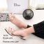 รองเท้าคัทชูพียูใส (สีดำ) thumbnail 5