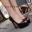 รองเท้าคัทชูส้นสูงทรงเปิดนิ้ว (สีชมพู) thumbnail 10