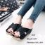 รองเท้าส้นเตารีดสวมไข้ว (สีแทน) thumbnail 8