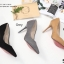 รองเท้าคัทชูส้นสูง Style Dior (สีดำ) thumbnail 12