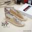 รองเท้าคัทชูสวมกากเพชรลายสมอ (สีทอง) thumbnail 3