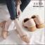 รองเท้าคัทชูส้นเตี้ยสไตล์แฟชั่นเกาหลี (สีครีม) thumbnail 6