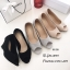 รองเท้าคัทชูส้นเตารีดกำมะหยี่ (สีดำ) thumbnail 7