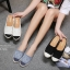 รองเท้า Chanel Espadrilles รุ่นเปิดส้น (สียีนส์) thumbnail 15