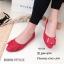 รองเท้าคัทชูส้นแบน Style Dior (สีครีม) thumbnail 8