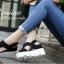 รองเท้าส้นเตารีดเมจิกเทปส้นหยัก (สีครีม) thumbnail 5