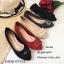 รองเท้าคัทชูส้นแบน Style Dior (สีครีม) thumbnail 9