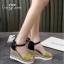 รองเท้าส้นเตารีดแต่งหวาย (สีชมพู) thumbnail 7