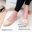รองเท้าคัทชูส้นแบน Style Dior (สีครีม) thumbnail 2