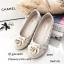 รองเท้าคัทชูส้นแบน Style Chanel (ชมพู) thumbnail 8