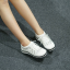 รองเท้าผ้าใบ MIUMIU Jeweled Satin Lace-Up Sneaker (สีขาว) thumbnail 2
