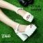 พร้อมส่ง : รองเท้าStyle nanda Shoes หน้าสวม (สีดำ) thumbnail 3