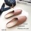 รองเท้า Slipper ทรงเปิดส้น (สีครีม) thumbnail 6