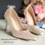 รองเท้าส้นสูงกลิตเตอร์ (สีทอง) thumbnail 1