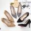 รองเท้าคัทชูส้นสูง Style Dior (สีดำ) thumbnail 11