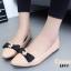 รองเท้าคัทชูหนังนิ่ม Style Dior (สีดำ) thumbnail 9