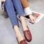 รองเท้าคัทชูทรงสวม Style Gucci (สีเลือดหมู) thumbnail 2