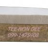 ที่นอนยางพาราอัด เสริมท็อปบนยางพารา MonoZone 2 นิ้ว