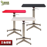 Pre-order โต๊ะทำงานปรับระดับ โต๊ะวางคอมพิวเตอร์ โต๊ะพรีเซนต์งาน บาร์ปรับระดับ (มี 3 สี ขาว ดำ แดง)