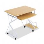 Pre-order โต๊ะทำงาน โต๊ะวางแล็ปท้อป โต๊ะคอมพิวเตอร์พีซี แผ่นท้อปไม้ MDF สีไม้