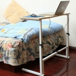 Pre-order โต๊ะทำงานปรับระดับ โต๊ะวางคอมพิวเตอร์ โต๊ะวางแล็ปท้อป โต๊ะพรีเซนต์งานปรับระดับ เฟอร์นิเจอร์ตกแต่งบ้าน ตกแต่งห้อง สีเมเปิ้ล