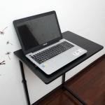 Pre-order โต๊ะทำงานปรับระดับ โต๊ะวางคอมพิวเตอร์ โต๊ะวางแล็ปท้อป โต๊ะพรีเซนต์งานปรับระดับ เฟอร์นิเจอร์ตกแต่งบ้าน ตกแต่งห้อง สีดำ