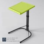 (Pre-order) โต๊ะทำงานปรับระดับ โต๊ะคอมพิวเตอร์ปรับระดับ โต๊ะคอมพิวเตอร์เคลื่อนไป โต๊ะทำงานเคลื่อนที่สีเขียว