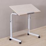 Pre-order โต๊ะทำงานปรับระดับ โต๊ะวางคอมพิวเตอร์ โต๊ะพรีเซนต์งาน โต๊ะเขียนแบบ โต๊ะยืนทำงาน เฟอร์นิเจอร์ตกแต่งห้อง สีบีช