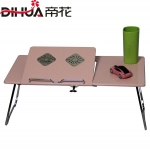 Pre-order ชุดโต๊ะคอมพิวเตอร์ โต๊ะแล็ปท้อป แบบมีพัดลมระบายอากาศ สีชมพู