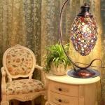 โคมไฟโบฮีเมียนมนต์เสน่ห์ของแสงและหินสี