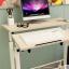 Pre-order โต๊ะทำงาน โต๊ะวางคอมพิวเตอร์ โต๊ะวางแล็ปท้อป แบบมัลติฟังก์ชั่น ท้อปคู่ สีเมเปิล thumbnail 1