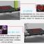 Pre-order ชุดโต๊ะคอมพิวเตอร์ โต๊ะแล็ปท้อปสีแดง แบบมีพัดลมระบายอากาศ มีช่อง USB และโคมไฟ LED ส่องสว่าง thumbnail 4