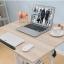 Pre-order โต๊ะทำงานปรับระดับ โต๊ะคอมพิวเตอร์ปรับระดับ โต๊ะพรีเซนต์งาน โต๊ะยืนทำงาน สีชมพู thumbnail 8