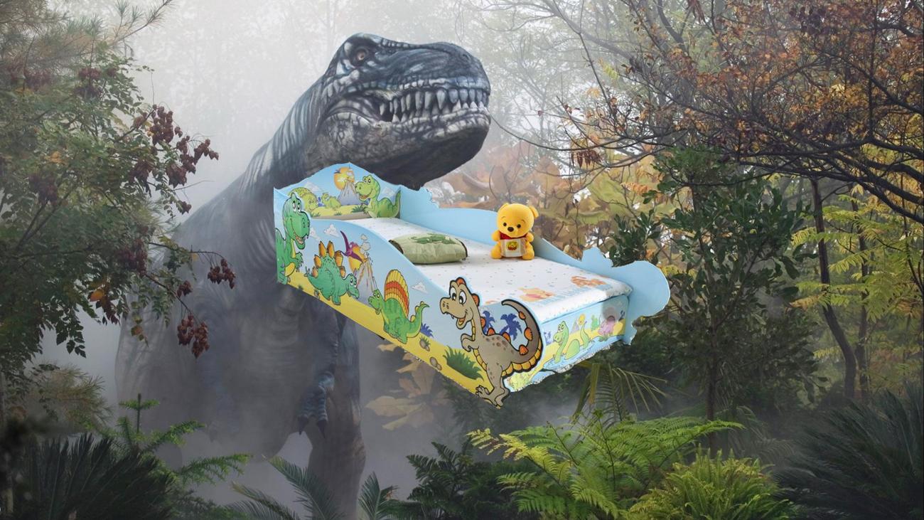 เตียงไดโนเสาร์