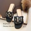 รองเท้าแตะสวม Style Hermes (สีดำ)