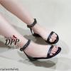รองเท้าลำลองสไตล์ Givenchy (สีดำโซ่ดำ)