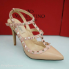 รองเท้า Valentino Heels 2015 (สีครีม)