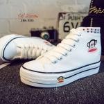 รองเท้าผ้าใบ Style Paul Frank (สีขาว)