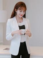 เสื้อสูททำงานผู้หญิงสีขาว รหัสสินค้า 4-008RX-ขาว