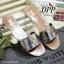 รองเท้าแตะสวมสไตล์ LV (สีเทา) thumbnail 8