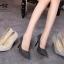 รองเท้าคัทชูผ้าลอนกลิตเตอร์ (สีเทา) thumbnail 11