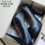 รองเท้าคัทชูส้นสูงหุ้มส้นแบบเรียบ (สีดำ) thumbnail 8