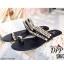 รองเท้าแตะ Style CHANEL sandal 2018 (สีดำ) thumbnail 1