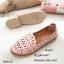 รองเท้าคัทชูทรงสวมฉลุลาย (สีครีม) thumbnail 4
