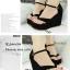 รองเท้าส้นเตารีดแบบคีบ (สีเทา) thumbnail 6