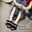 รองเท้าแตะจีบแต่งมุก (สีชมพู) thumbnail 8