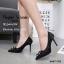 รองเท้าคัทชูลูกไม้ Style Roger Vivier (สีเทา) thumbnail 5